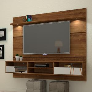Painel Home Suspenso Angra - TV 60´´ LED - Canela